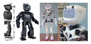 DIY 3D printed humanoid robot