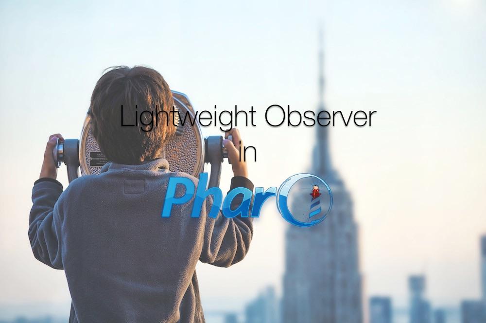 Observer Design Pattern implementation in Pharo