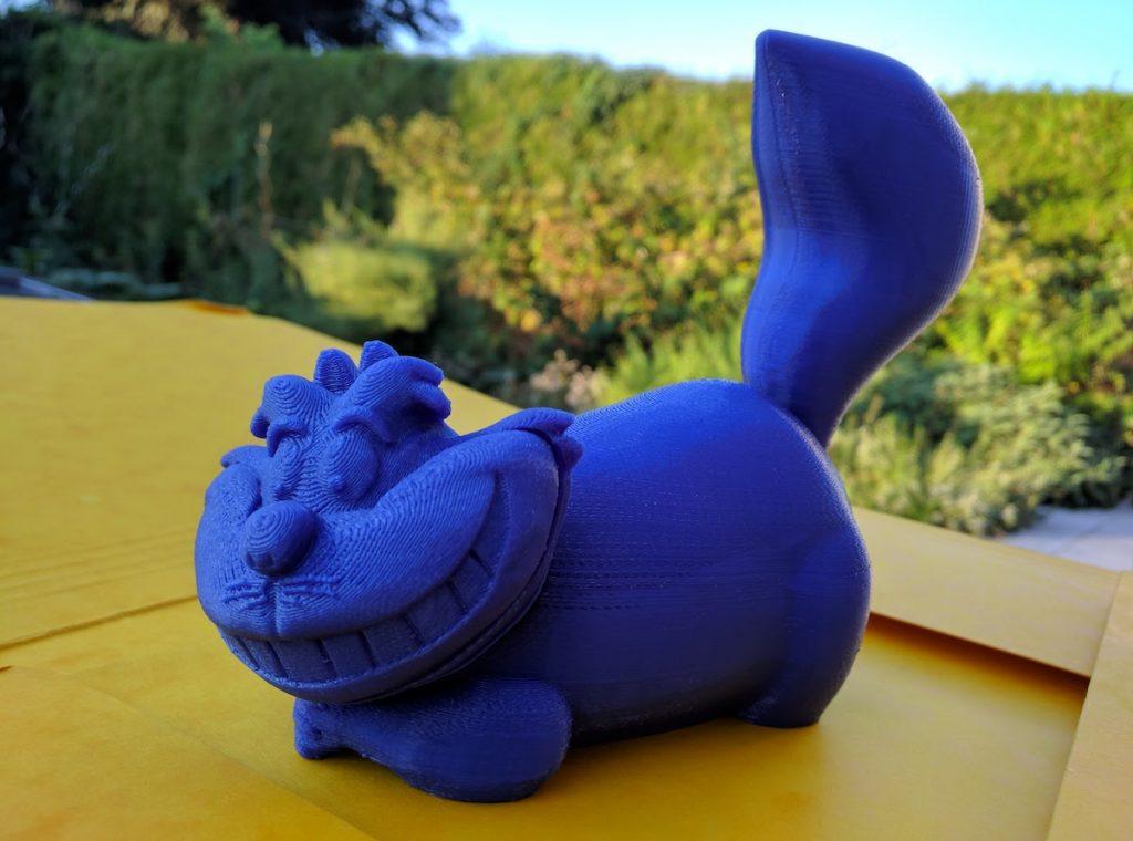 Cheshire Cat from Alice Wonderland 3D Print
