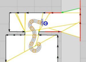 polygon-based SLAM algorithm for robotic exploration