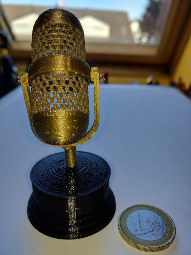 Tiny Microphone 3D Print