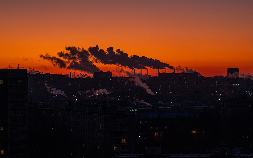 Global Warming Caused by Continuous Carbon Emissions
